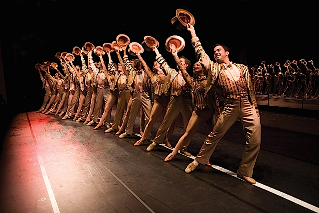 A Chorus Line. Photo by Phil Martin