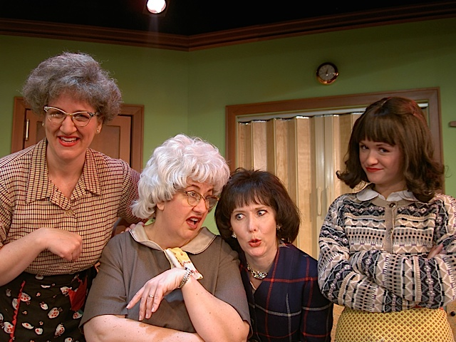 Church Basement Ladies. Photo courtesy of Plymouth Playhouse