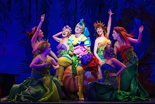 Little Mermaid. Photo by Bruce Bennett, courtesy of Theatre Under The Stars