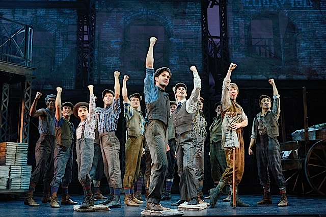 Newsies. Photo by Deen van Meer