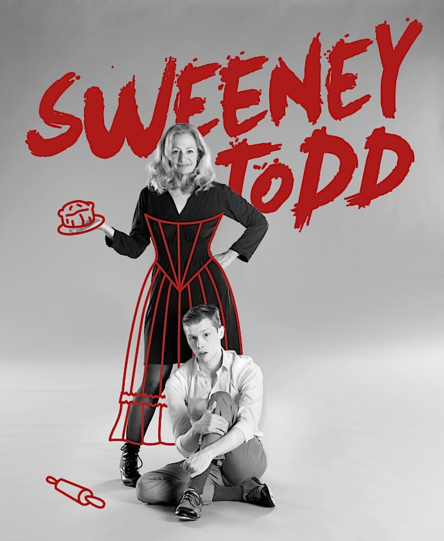 Sweeney Todd. Illustrated Photo by Joe Dickie
