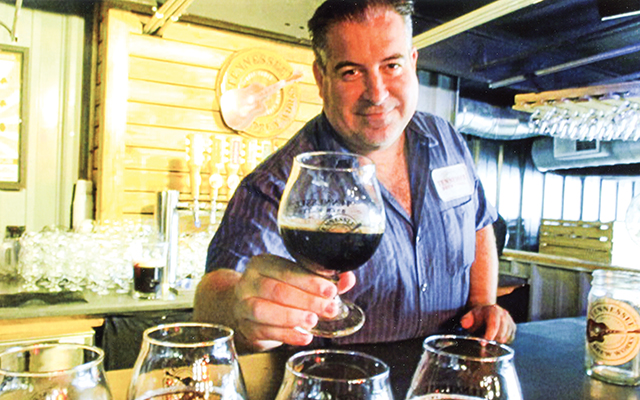 Founder Chris Spears of Tennessee Brew Works. Photo by Carla Waldemar