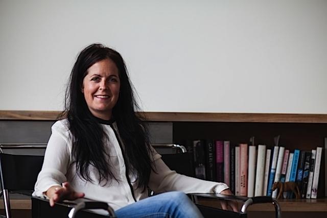 Author Kristin Schreier Lyseggen. Photo: Herb Schreier.
