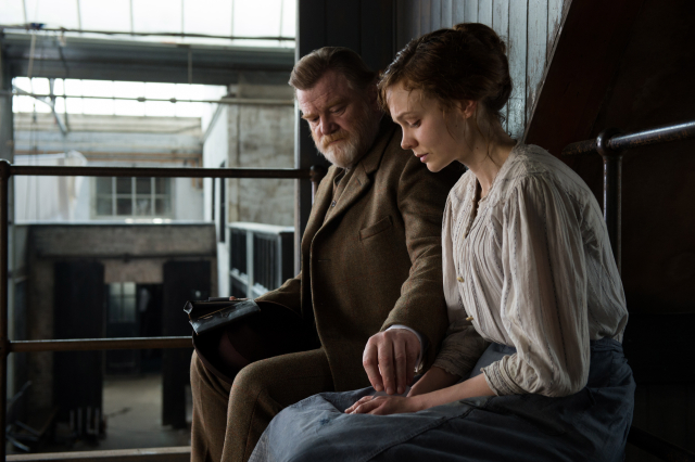 Brendan Gleeson stars as Inspector Arthur Steed and Carey Mulligan stars as Maud Watts in director Sarah Gavron's Suffragette. Photo Credit : Steffan Hill / Focus Features