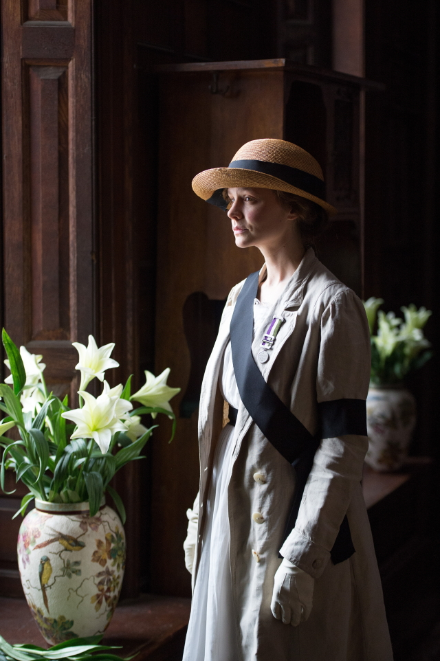 Carey Mulligan stars as Maud Watts in director Sarah Gavron's Suffragette. Photo Credit : Steffan Hill / Focus Features
