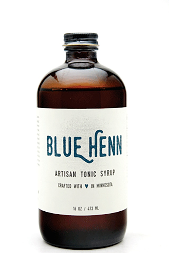 Summers blue-henn-tonic