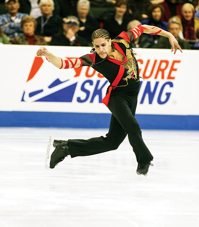 Rohene Ward. Photo courtesy of U.S. Figure Skating