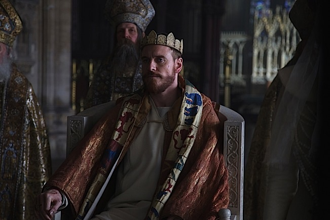 MICHAEL FASSBENDER stars in MACBETH. Photo courtesy of The Weinstein Company.