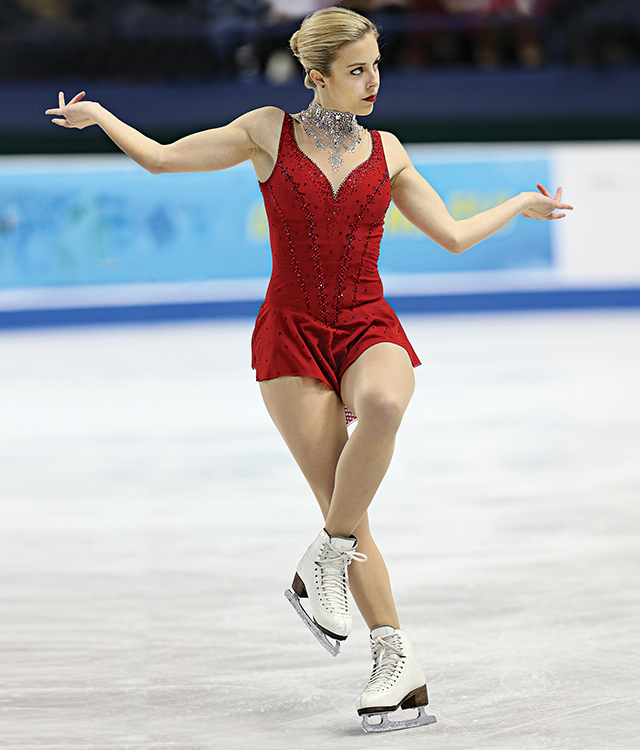 Ashley Wagner. Photo courtesy of U.S. Figure Skating
