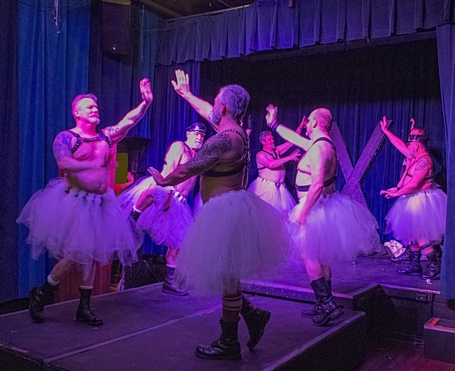 """The Waltz of the Flowers"" as interpreted by members of the Atons of Minneapolis. Photo by Steve Lenius."