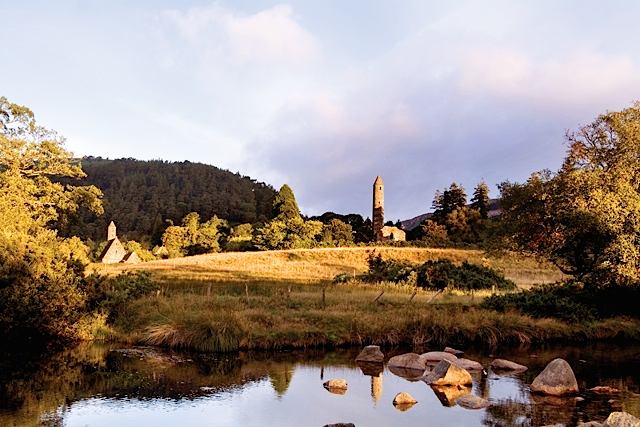 Glendalough is home to one of Ireland's most impressive monastic sites founded by St. Kevin in the 6th Century. Photo by Christopher Hill