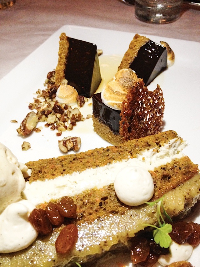 Kansas City A dark chocolate S'Mores Torte is the way to my heart at Jax. Photo by Andy Lien