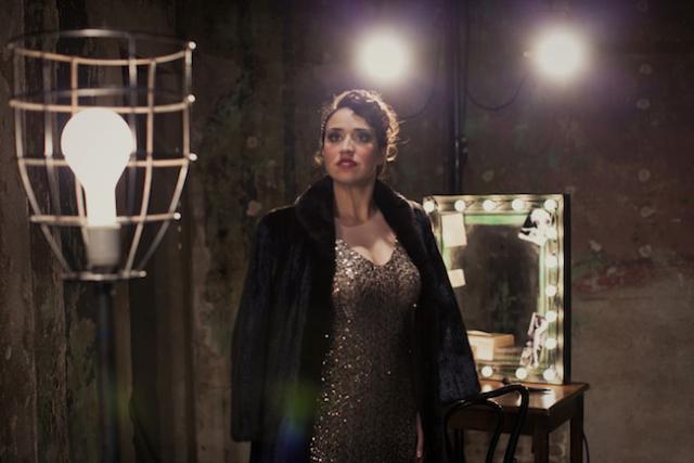 Cat Brindisi as Gypsy Rose Lee Photo by Joe Dickie