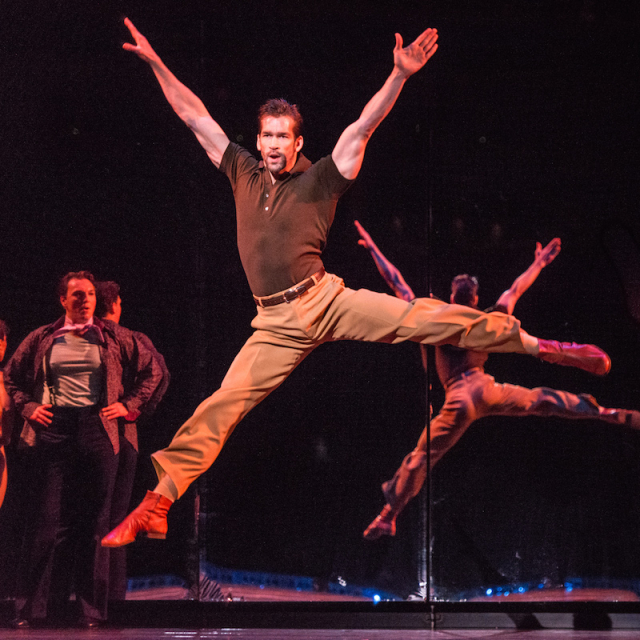 Tom Berklund as Zach in A Chorus Line Photo by Rich Ryan