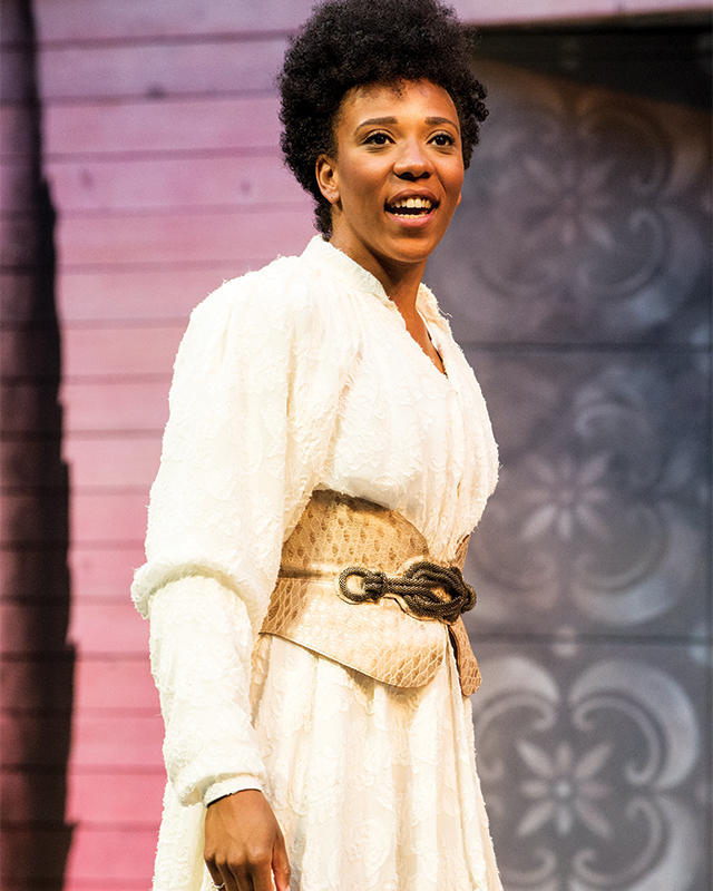 Christiana Clark in The Two Gentlemen of Verona. Photo by Jenny Graham