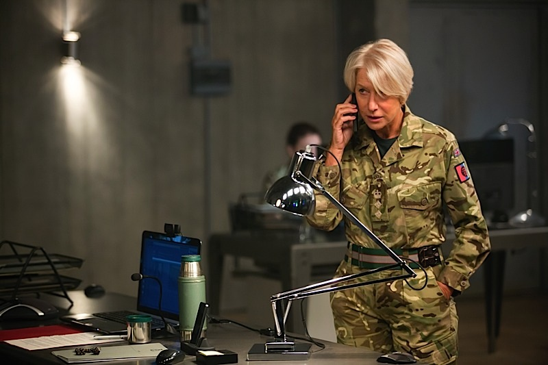 EITS_00534_R Helen Mirren stars as Colonel Katherine Powell in the dramatic thriller, EYE IN THE SKY, a Bleecker Street release. Credit: Keith Bernstein / Bleecker Street