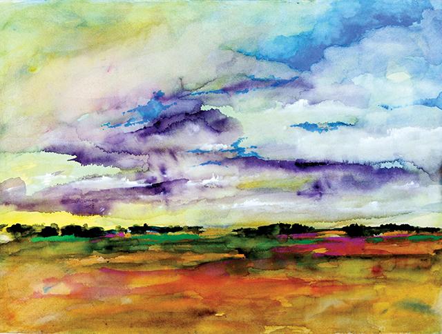 Art-A-whirl-Blue-Skie-Peeking-Through-by-Calvin-deRuyter