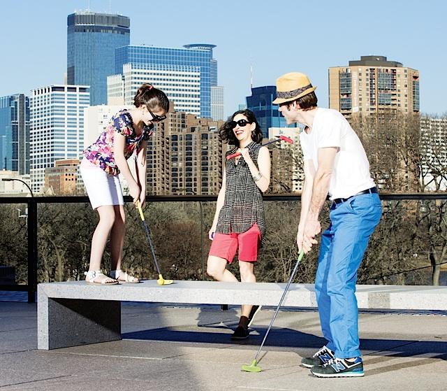 Skyline Mini Golf. Photo courtesy of Walker Art Center
