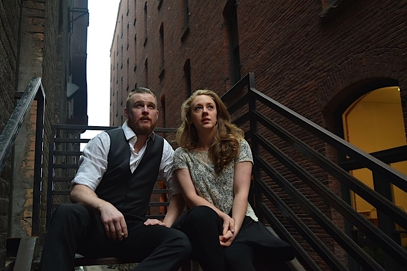 James Napoleon Stone as Tom and Kaylyn Forkey as Laura. Photo courtesy of Lanny Langston.
