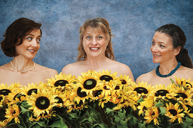 Calendar Girls. Photo by Petronella J. Ytsma