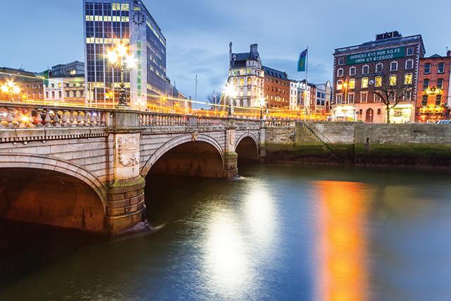 Dublin, Ireland. Photo courtesy of Bigstock
