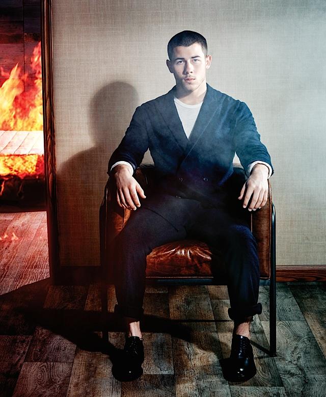 Nick Jonas. Photo by Yu Tsai
