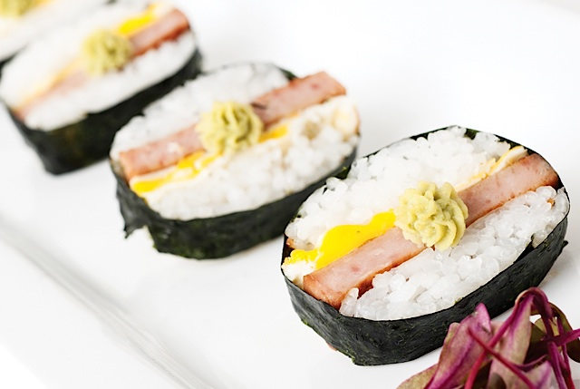 Eat the Menu SPAM® Sushi