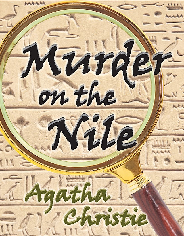 Murder on the Nile. Artwork courtesy of Theatre in the Round