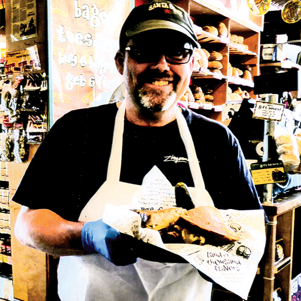 Zingerman's best selling Reuben. Photo by Carla Waldemar