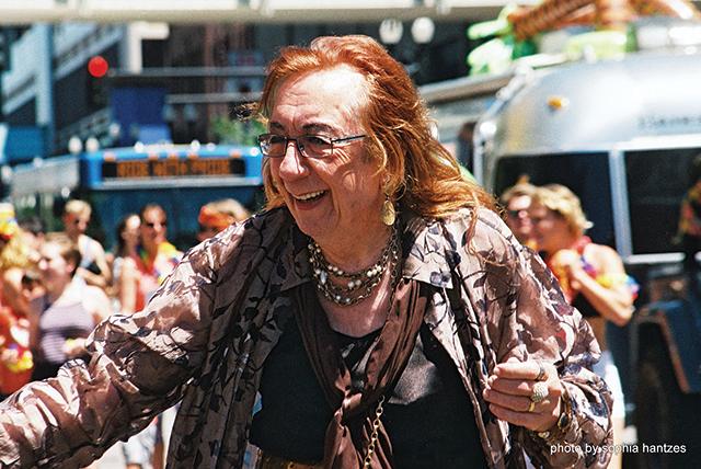 Barbara Satin. Photo by Sophia Hantzes