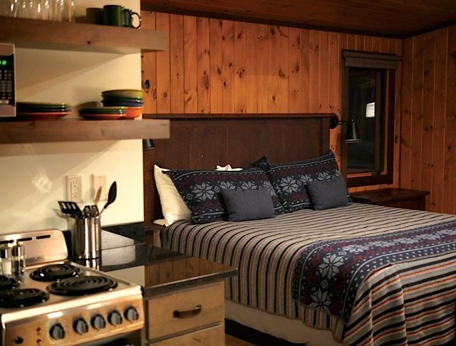 Breezy Point Cabin interior