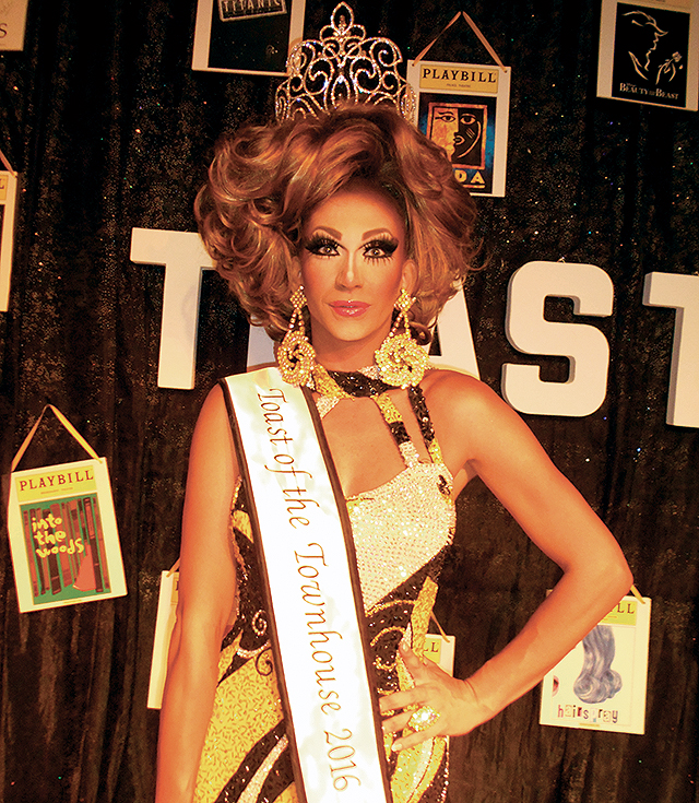Miss Toast of the Town House 2016, Nikki Vixxen. Photo by George Holdgrafer