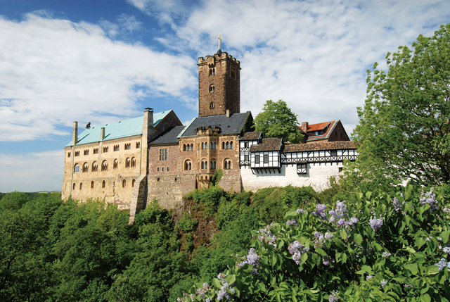 Wartburg Castle. Photo by André Nestler