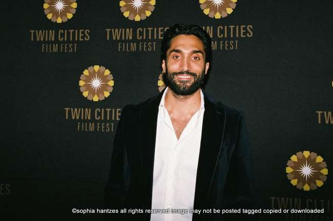 "Actor Dominic Rains Starred in three TCFF  Films:  ""Burn Country""   ""The Loner""  ""Funeral Day"""
