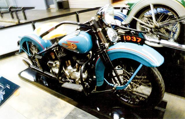 1937 Harley-Davidson. Photo by Carla Waldemar