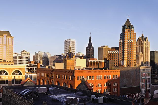 Downtown Milwaukee. Photo courtesy of Bigstock/benkrut