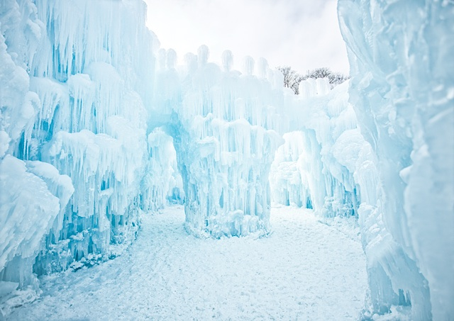 Ice Castles. Photo by AJ Mellor