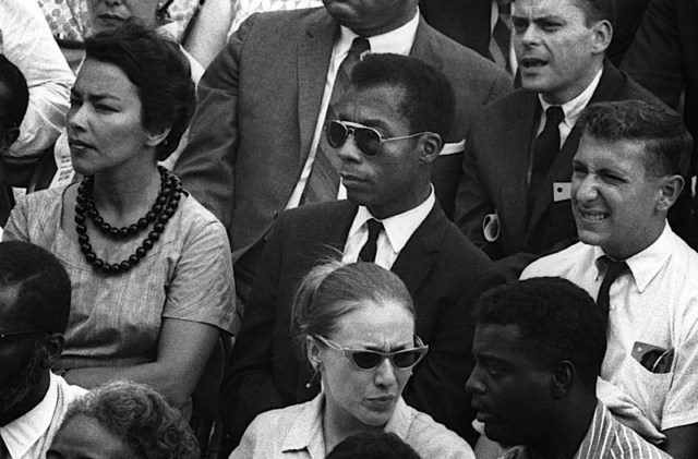 James Baldwin in I AM NOT YOUR NEGRO, a Magnolia Pictures release. Photo courtesy of Magnolia Pictures. Photo Credit: © Dan Budnik.
