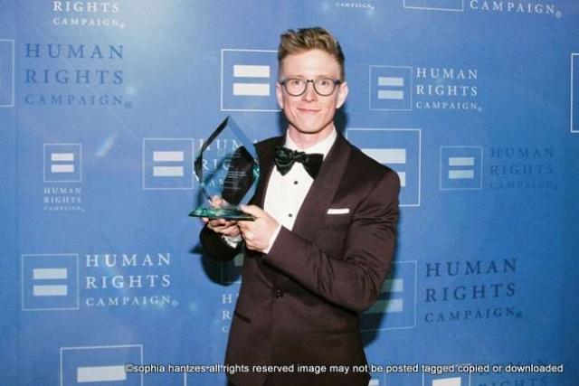 Tyler Oakley  Recipient HRC Visibility Award