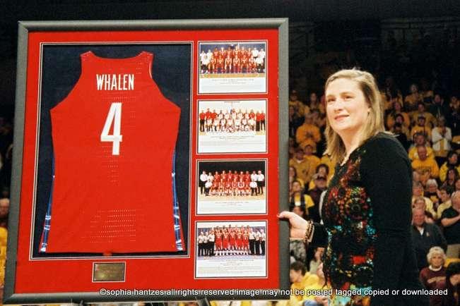 11.29.18 USA Basketball Honors Lindsay Whalen  Head Coach  Women's Basketball  University of Minnesota Golden Gophers Minneapolis MN