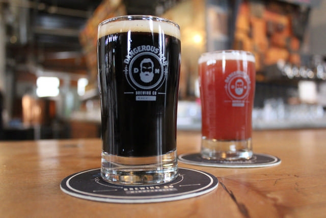 The Peanut Butter Porter and Raspberry Milkshake IPA are two of Dangerous Man's must-have concoctions.