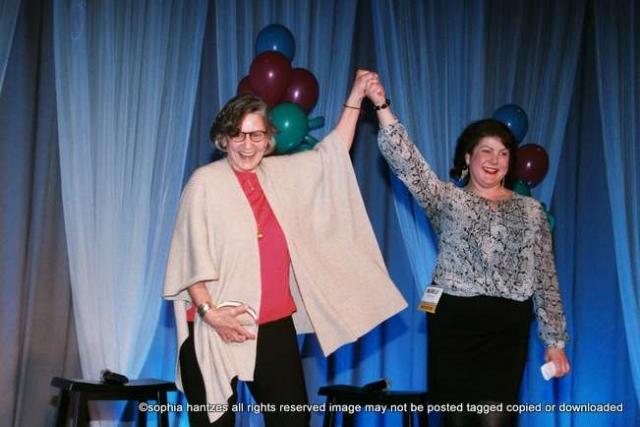 Ann Bancroft  Michelle Storm, Recipient Inaugural Ann Bancroft Foundation Impact Award