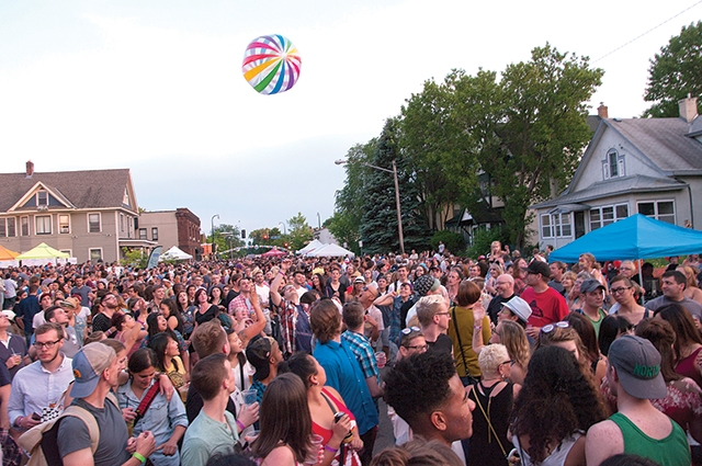 Bryant Lake Bowl Block Party. Photo by Eric Melzer