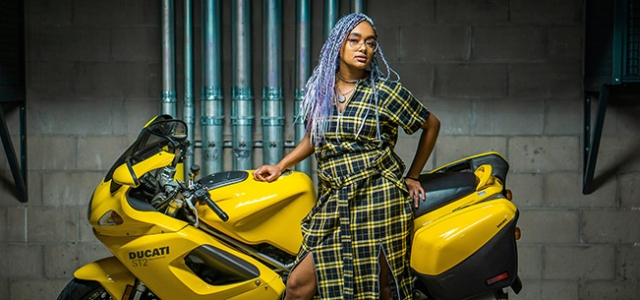 Want-to-give-off-an-edgy-vibe-as-a-wedding-guest_-Try-out-this-amazing-yellow-plaid-skirt-as-modeled-by-Thar-Jordan_Photo-by-Andrea-Sawye2r
