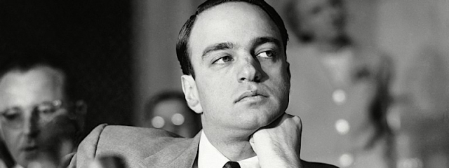 Mandatory Credit: Photo by Anonymous/AP/REX/Shutterstock (6638397b) Roy Cohn Roy Cohn, chief counsel to Sen. Joseph R. McCarthy's investigating subcommittee, ponders over testimony by Army counsel John Adams, as hearings on Army McCarthy controversy continued in Washington on . Cohn heard Adams relates frequent appeals by Cohn for special handling in case of G. David Schine, Army inductee McCarthy-Army Hearings: Roy Cohn, Washington, USA