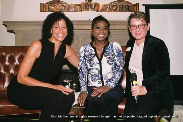 Lea B. Olsen, Surya Bonaly, Debbie Côté