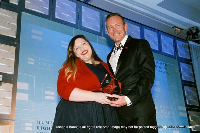 Mary Lambert  Singer, songwriter and spoken word artist.  Recipient of the HRC Visibility Award