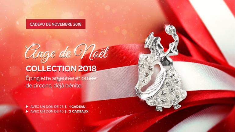 Cadeaux Novembre 2018