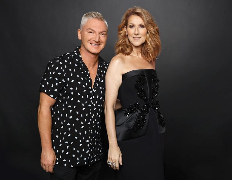 Sylvain Charron et Céline Dion