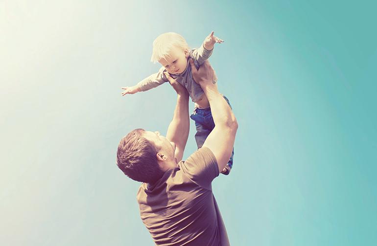 Père et son enfant